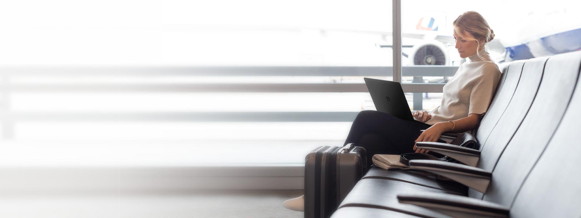 Black Surface Pro 6, Black Surface Laptop 2 and Black Surface Pen