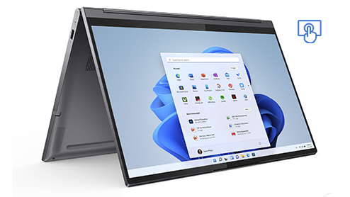Lenovo Yoga. Touchscreen device
