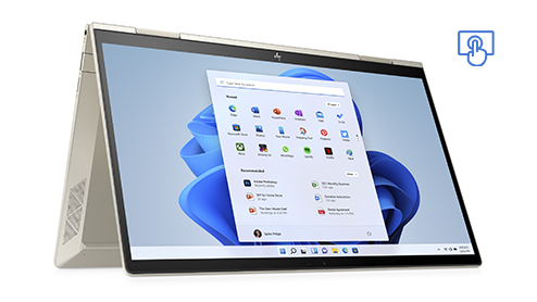 HP ENVY x360. Touchscreen device