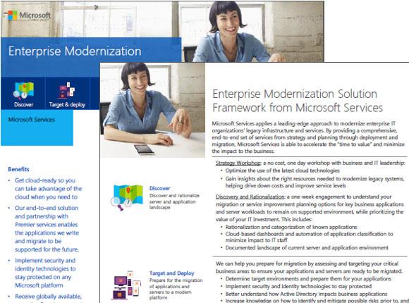 Enterprise Modernization Datasheet