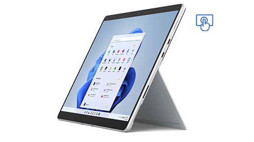 Surface Pro 8. Touchscreen device