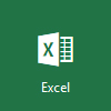 Excel logo, open Microsoft Excel Online