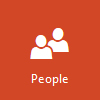 People logo, open People in Outlook.com