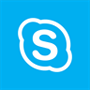 Skype for Business logo, download the Skype for Business app in the Windows Store