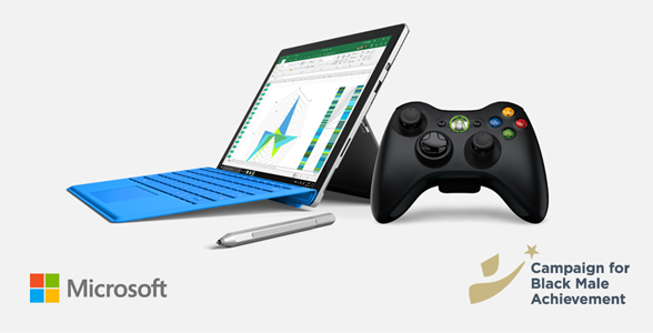 Recycle for Rewards image featuring Microsoft Surface device, pen, and Xbox controller.