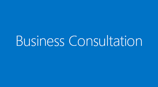 Business consultation banner