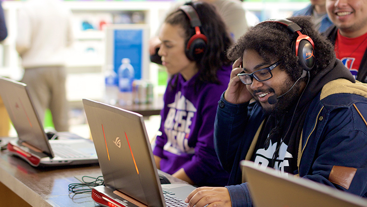 Events for Gamers at Microsoft Store