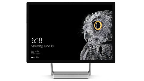 Surface Studio, as seen from the front
