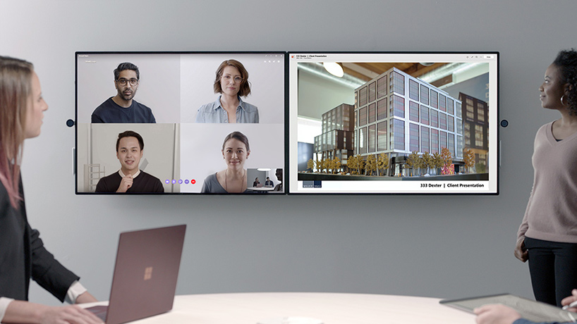 Cool Tech: Microsoft's Surface Hub 2, the future of teamwork space