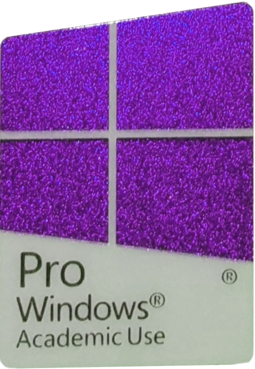 Genuine Microsoft Labels