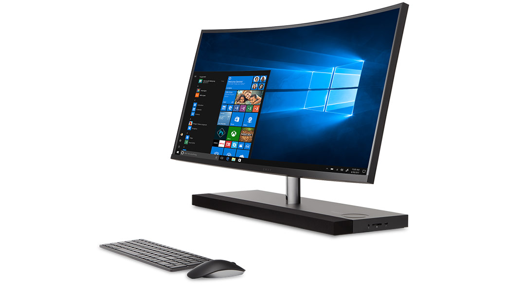 HP Curved Envy AIO