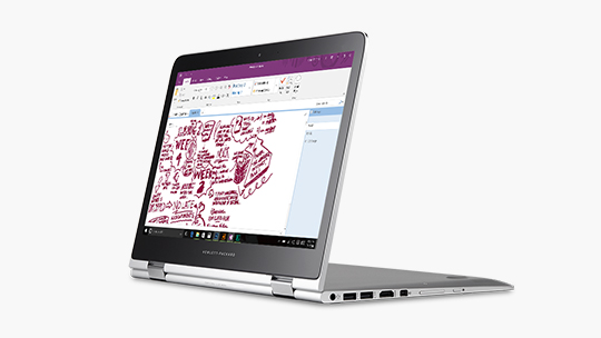 Computer in OneNote application
