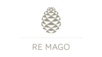 Re Mago brand logo