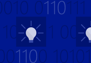 Hackathons illustration with lightbulbs, learn about upcoming hackathons and other events for developers
