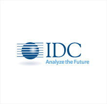A graphic of the IDC logo.