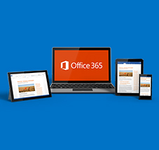 Computer and other devices with Office 365, register for a free live demo of Office 365