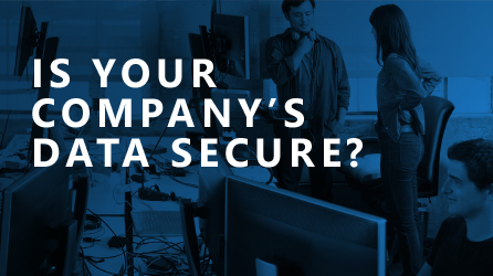Is Your Company's Data Secure? Download the infographic file from the destination page to learn about keeping your data secure