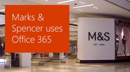 Cover page of case study, download the Marks & Spencer case study