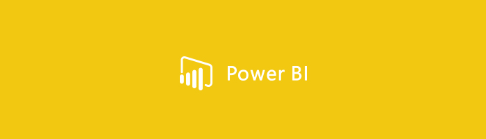 An icon of Power BI