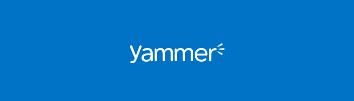An icon of Yammer