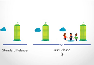 Standard and first release diagrams, set up standard or first release options in Office 365 with information on the Microsoft support site