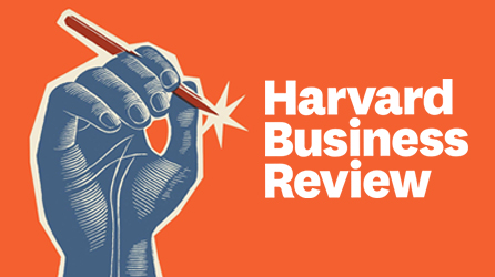Harvard Business Review logo, read the article titled Learn What Investors Really Want from a Business Plan by completing the form on the registration page