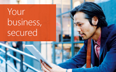 Your Business, Secured. Download this free eBook by completing the form on destination page