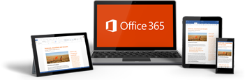 Thumbnail image of a laptop, tablet, and phone showing Office 365 in use.