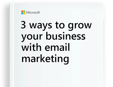 Microsoft Connections, Email Marketing Tool