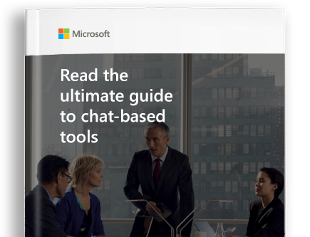 A page from the ultimate guide to chat-based tools