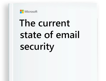 page from eBook titled The Current State of Email Security