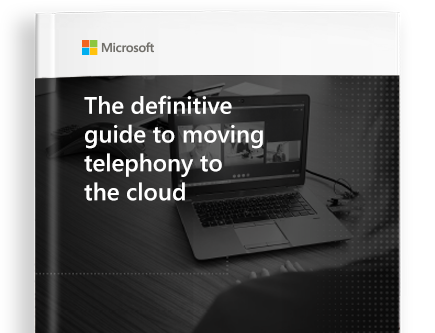 GET THE FREE EBOOK titled The Definitive Guide to Moving Your Telephony to the Cloud
