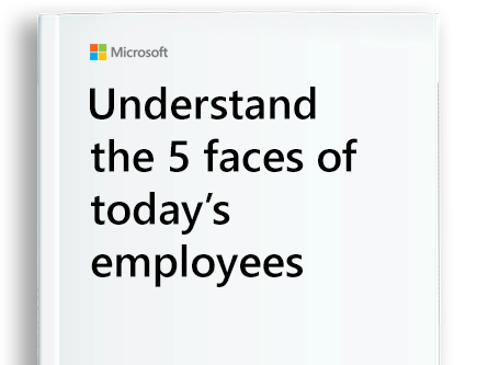 page from the eBook titled 5 Faces of Today's Employees