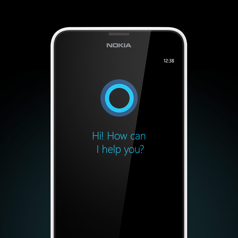 Meet Cortana. Available now on the Lumia 635.