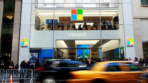 Microsoft Store in New York City