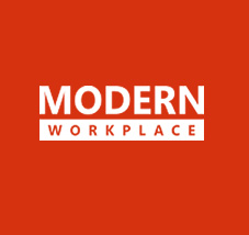 Modern Workplace logo, register now the latest episode of Modern Workplace webcast series