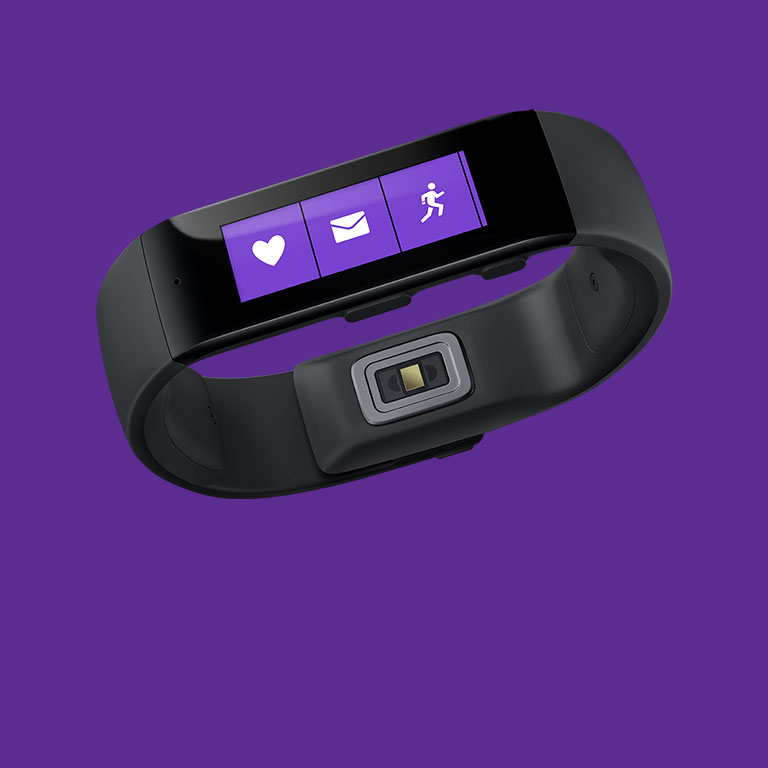 Live healthier and be more productive with Microsoft Band.