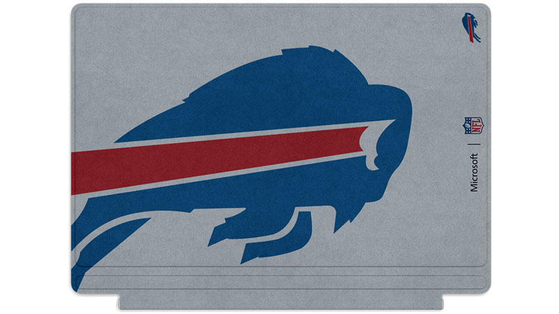 Buffalo Bills logo printed on Surface Type Cover