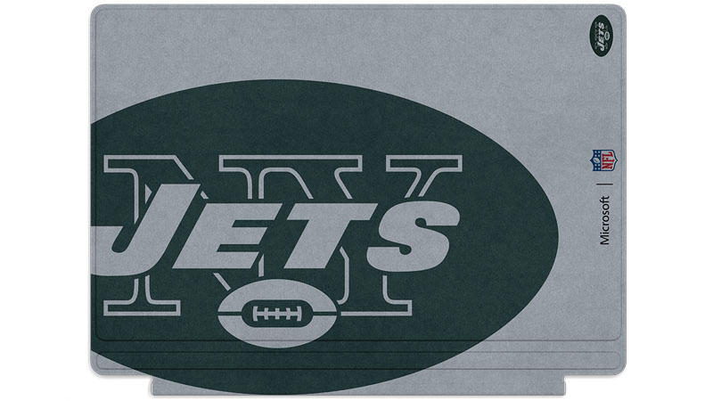 New York Jets logo printed on Surface Type Cover