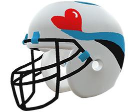 Thomas Scuhler's custom NFL helmet design