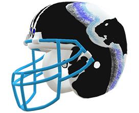 Wangyu Vang's custom NFL helmet design