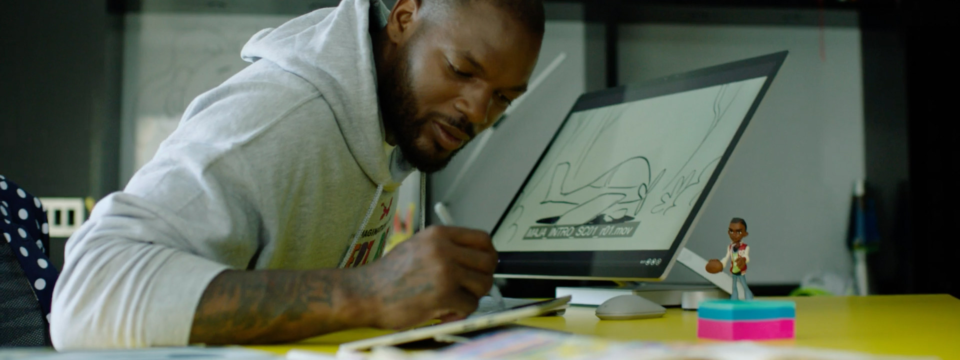 Martellus Bennett creates children's books, apps, and films to inspire youth to pursue creative career paths through the Imagination Agency.