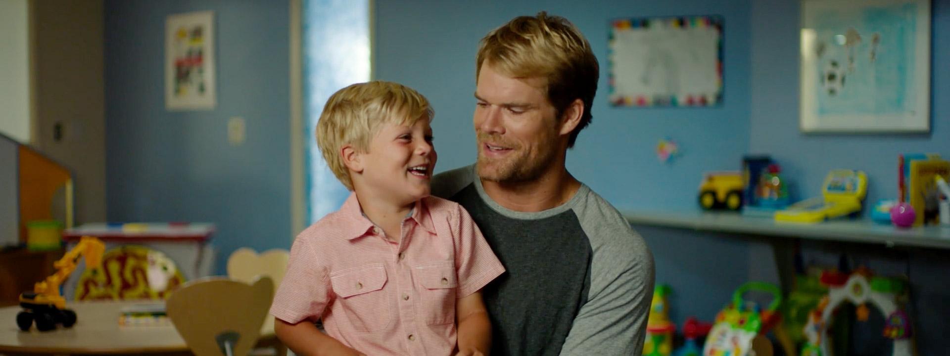 Greg Olsen helps families of children with congenital heart disease through The HEARTest Yard.