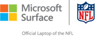 Microsoft Surface and NFL – Official Laptop of the NFL