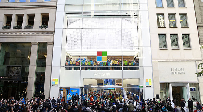 Microsoft Store Fifth Avenue New York Ny