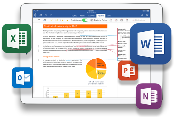 Image result for microsoft excel on ipad pro