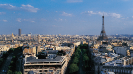 Photo of the city of Paris