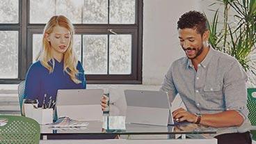 People working, buy Office 365