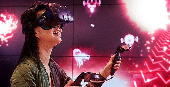VR at New York flagship store