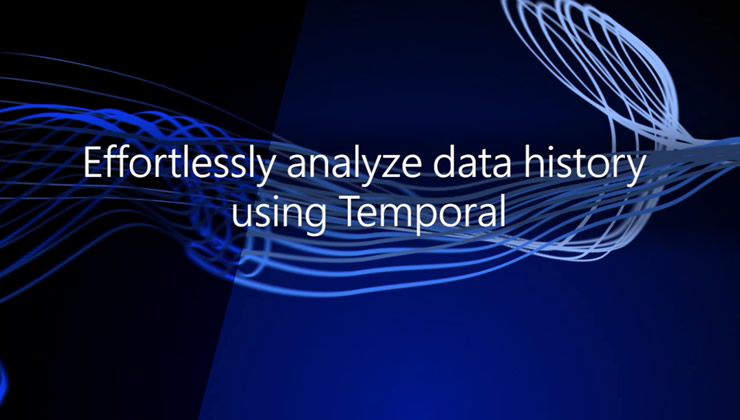 Temporal support in SQL Server 2016 lets you easily keep the entire history of changes in your tables, go back to any point in time in history, and run interesting analyses. See how easily you can use temporal tables in SQL Server 2016.